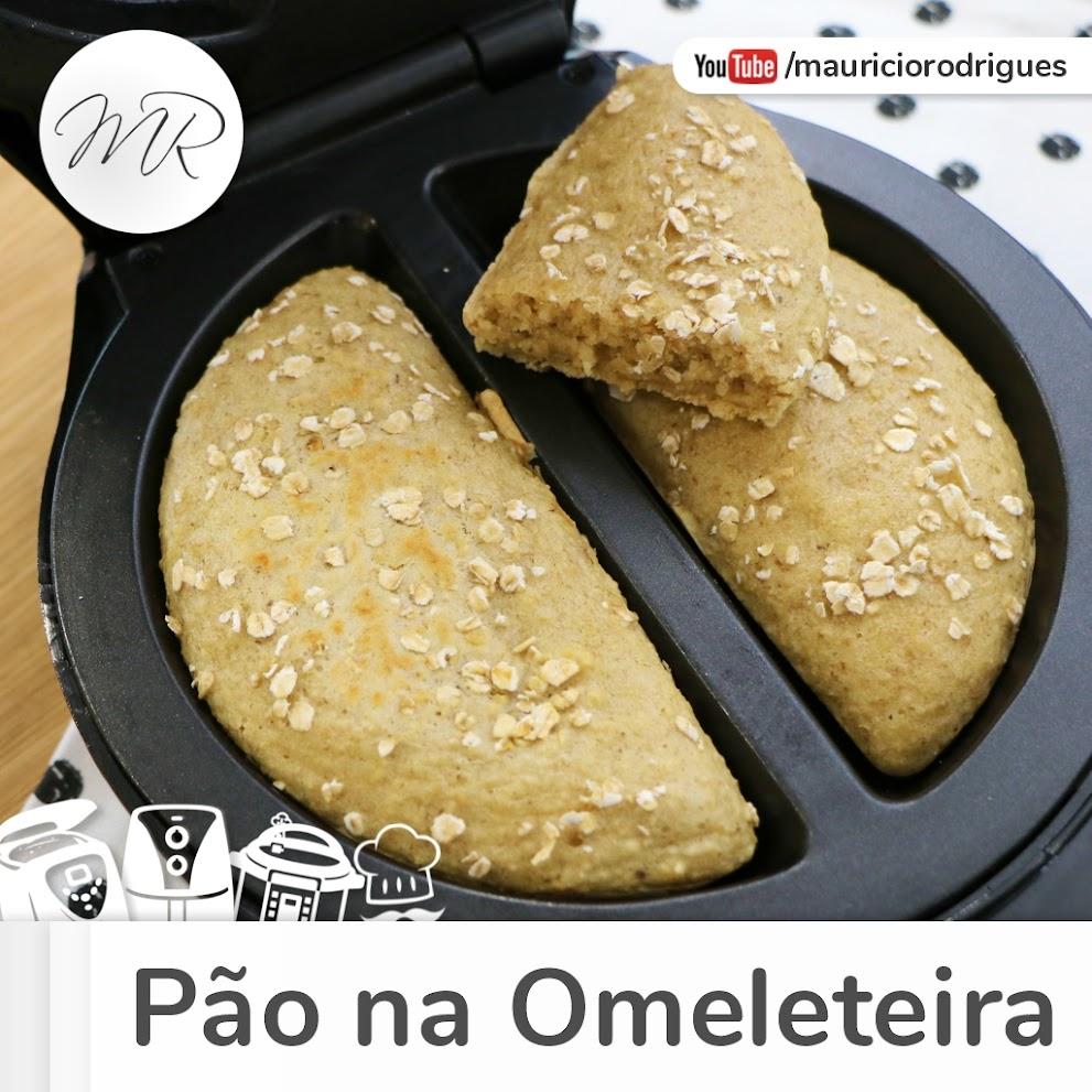 VÍDEO - Pão de Aveia na Omeleteira
