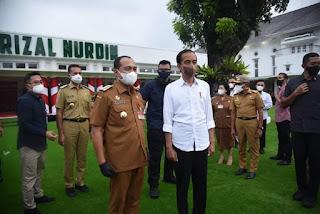 Bupati Batu Bara Hadiri Kunjungan Kerja Presiden Jokowi Di Sumut