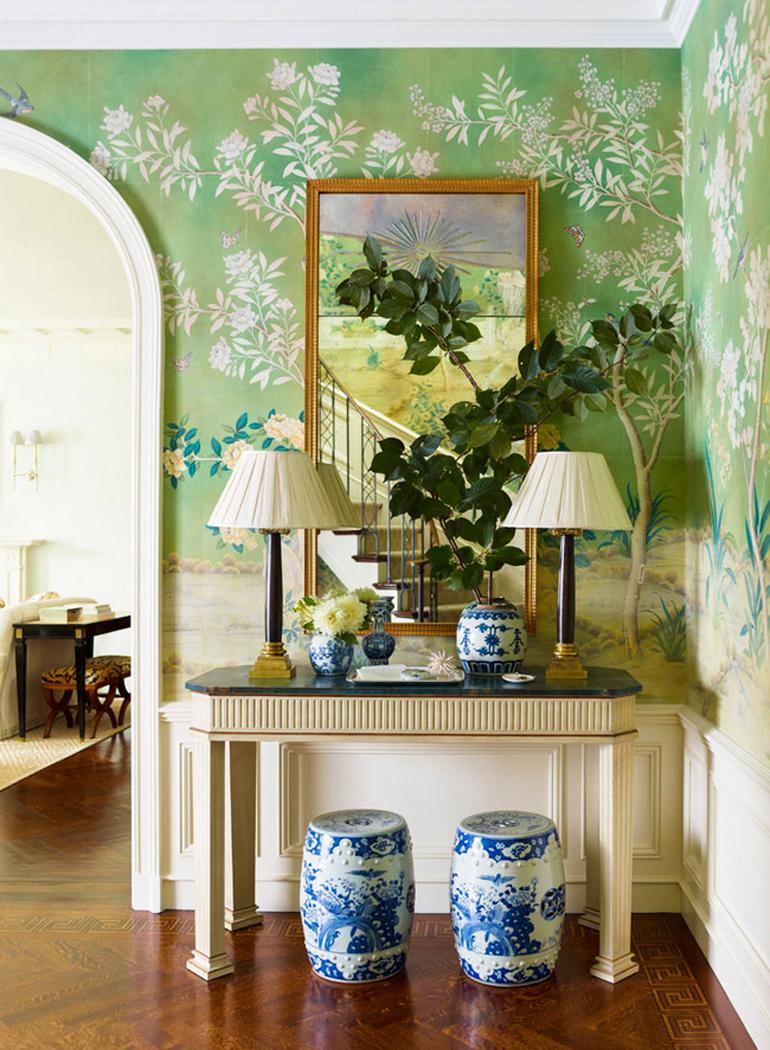 inspiracion-greenery-pantone-papel-pintado-verde-paredes
