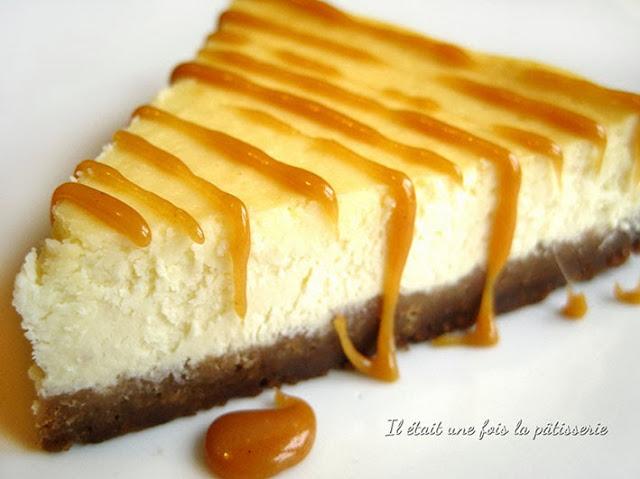 Cheesecake classique américain