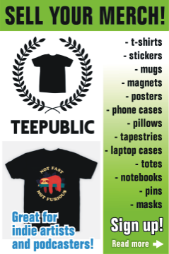 Sign up to TeePublic