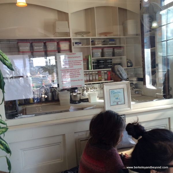 bakery kitchen at Sweetleaf Coffee In Long Island City, Queens, NY