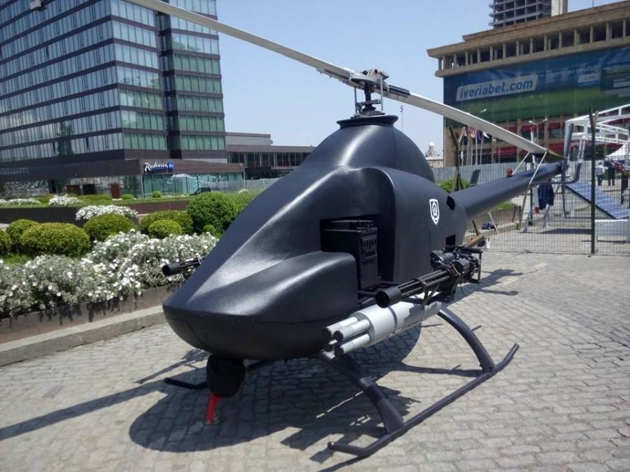 Грузинський БпЛА гелікоптерного типу