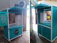 Gerobak Thai tea - Gerobak minuman - Gerobak minuman unik - Gerobak Container unik 6.800.000