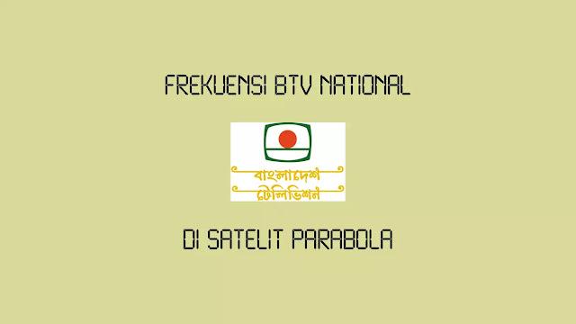 Frekuensi BTV National Terbaru