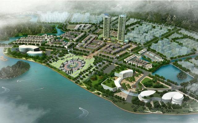 Phối cảnh dự án Mon Bay