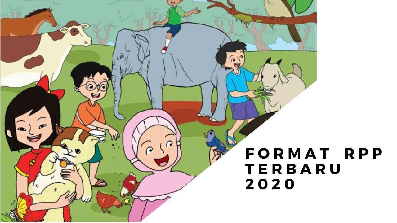 format rpp terbaru 2020