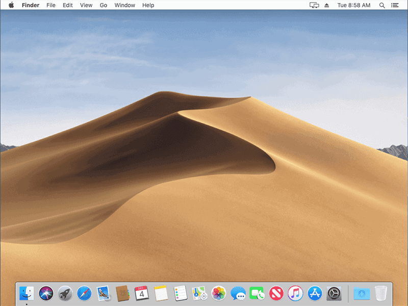 Installed Mac OS Mojave on Virtualbox