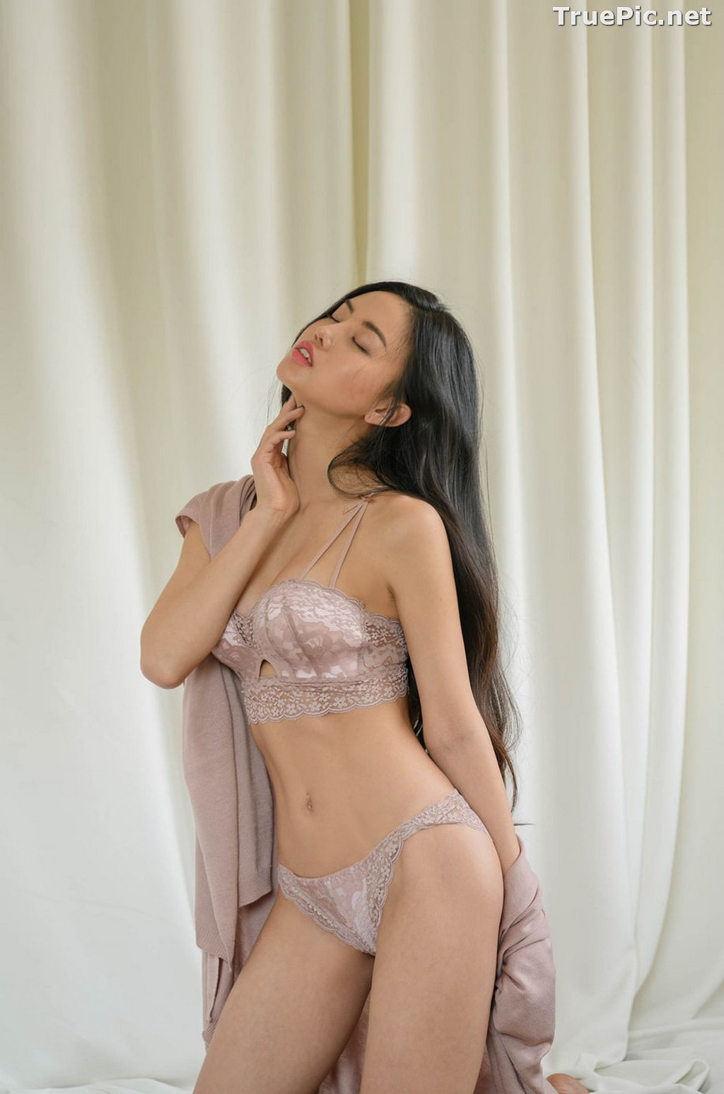 Image Korean Fashion Model – Baek Ye Jin – Sexy Lingerie Collection #8 - TruePic.net - Picture-6