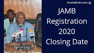 17th February 2020 JAMB Registration Ends/Closes