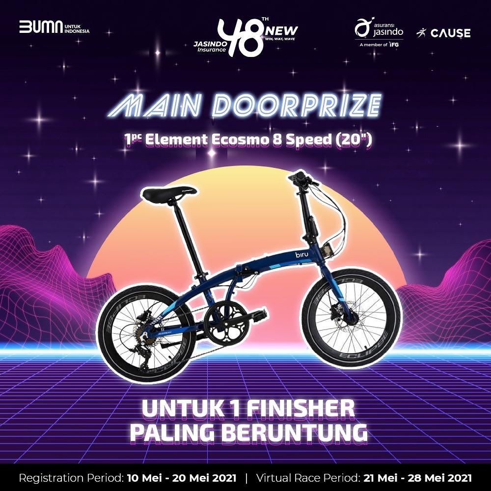 Lucky Draw 🚲 JASINDO Virtual Run & Ride • 2021