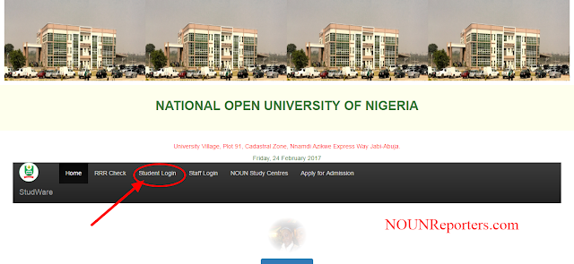 National Open university Student Portal Login Area