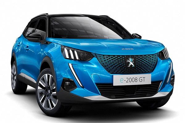 Peugeot 2008 eléctrico 2020