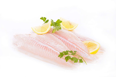 Pangasius well-trimmed fillets