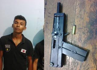 Dois jovens são presos Suspeitos de praticarem assaltos em São Bernardo.