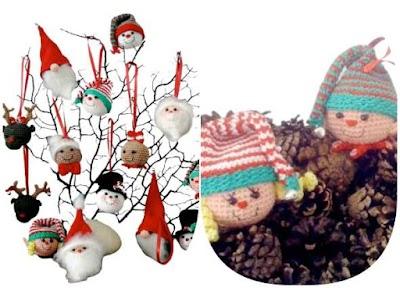 Arbol de Navidad de Amigurumis