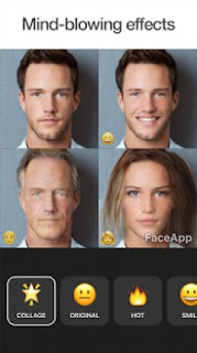 Make Beautiful Smile With Faceapp, Faceapp edit age and gender, Faceapp edit