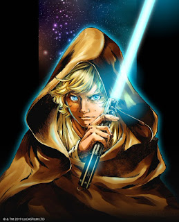 VIZ Star Wars: The Legends of Luke Skywalker Manga Book Series