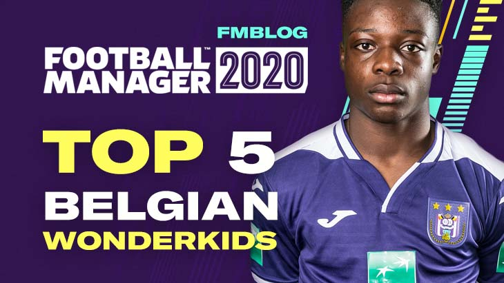 FM20 Top 5 Wonderkids From Belgium