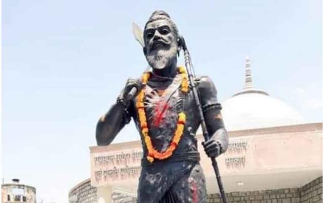 सोशल डिस्टेंस का पालन करते हुए सादगी पूर्वक मनाई परशुराम जयंती