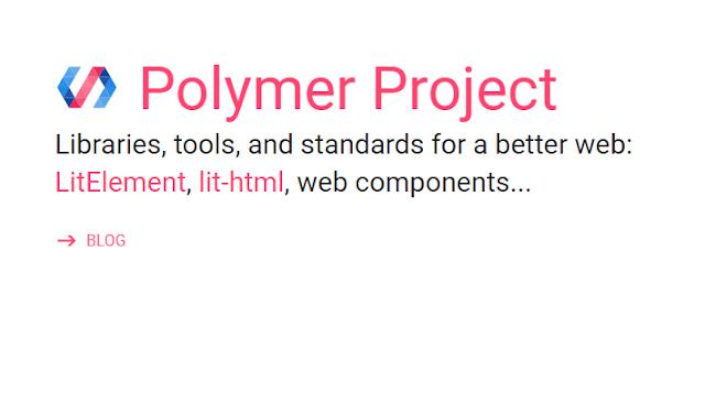 مكتبة جافا سكريبت polymer