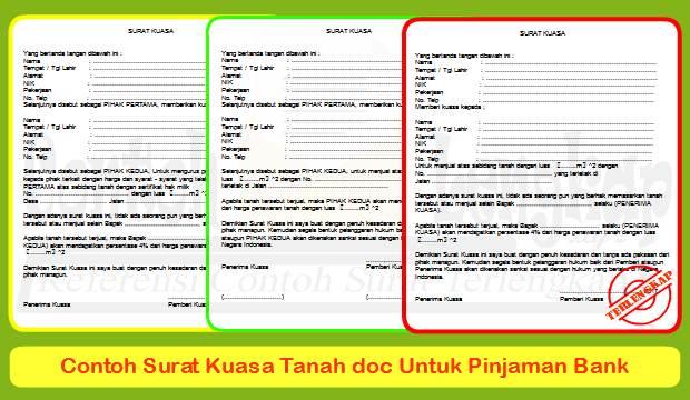 Ragam contoh surat tanah doc ini dapat digunakan untuk pinjaman bank, menjual tanah, jaminan sertifikat dan sebagainya. Check file doc nya diartikel ini.
