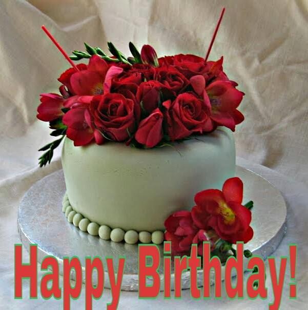 Astonishing Happy Birthday Rose Cake Message Happy Birthday Greeting Cards Birthday Cards Printable Nowaargucafe Filternl
