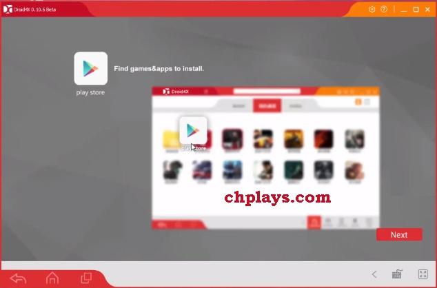 Download Droid4X - Phần mềm giả lập Android nhẹ trên máy tính e