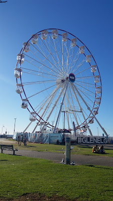 Glenelg Wheel on the foreshore.