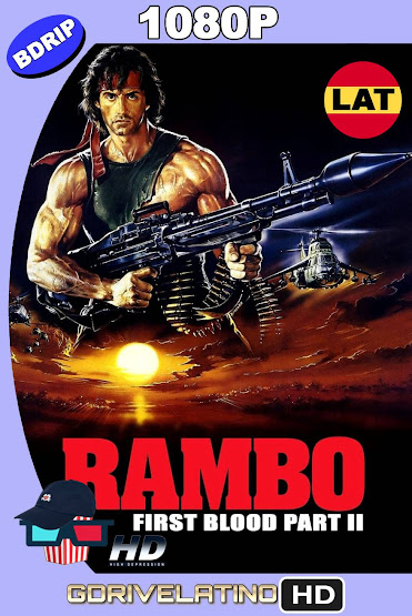 Rambo II (1985) BDRip 1080p Latino-Ingles MKV