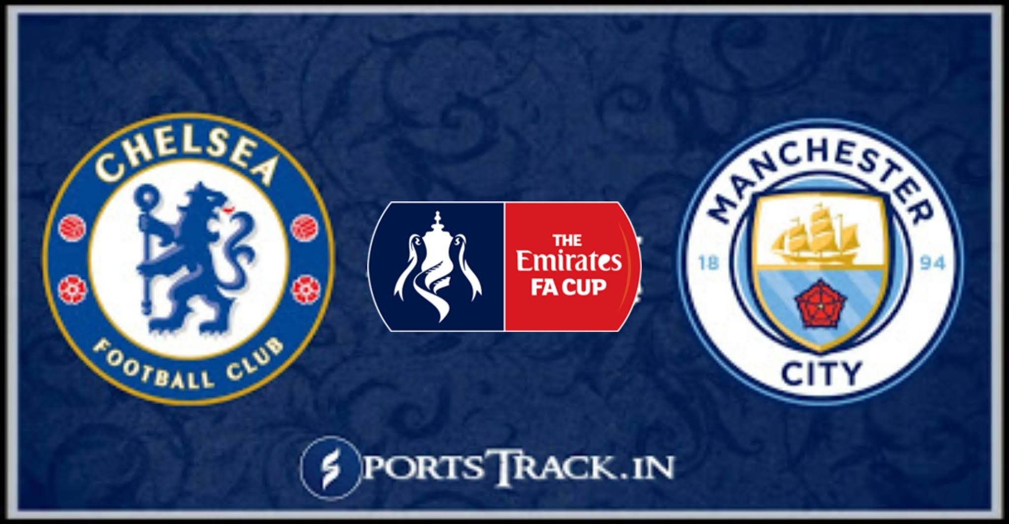 FA Cup Semi Final : Chelsea Vs Manchester City Match ...