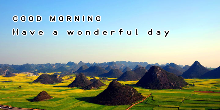 wonderful day good morning images with quotes