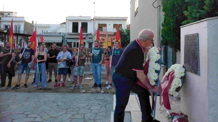 Εκδήλωση τιμής και μνήμης για τους 8 αγωνιστές πατριώτες που εκτέλεσαν οι Ναζί στο Σουφλί