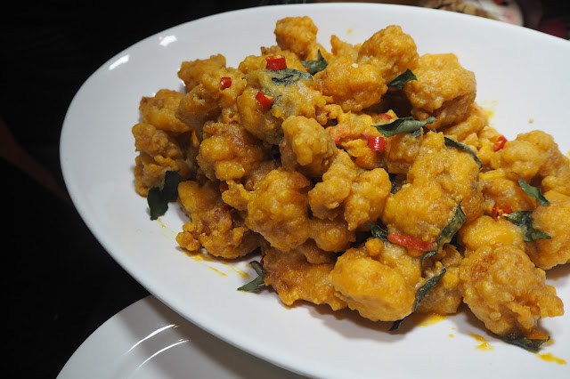 Stir-Fried Moreton Bay Bug With Salted Egg review