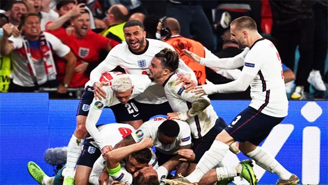 تاهل منتخب إنجلترا الى نهائي يورو 2020 ليلتقي بإيطاليا في النهائي