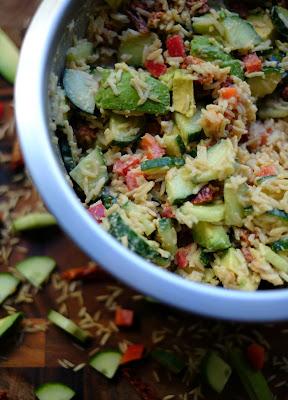 Cucumber Rice Salad Recipe