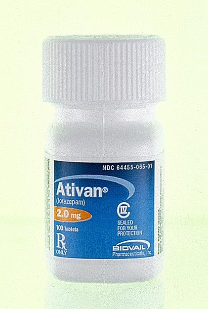 what is generic ativan called by god