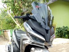 Modifikasi honda New vario 150cc pakai topeng x-max