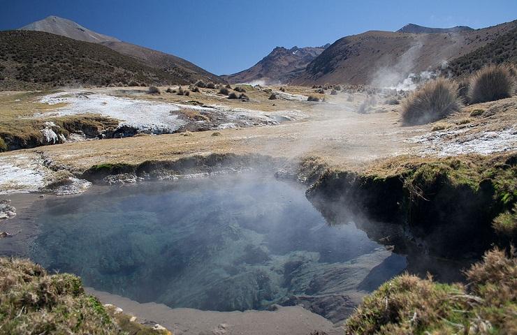 lugares turistico oruro bolivia geisers montaña sajama