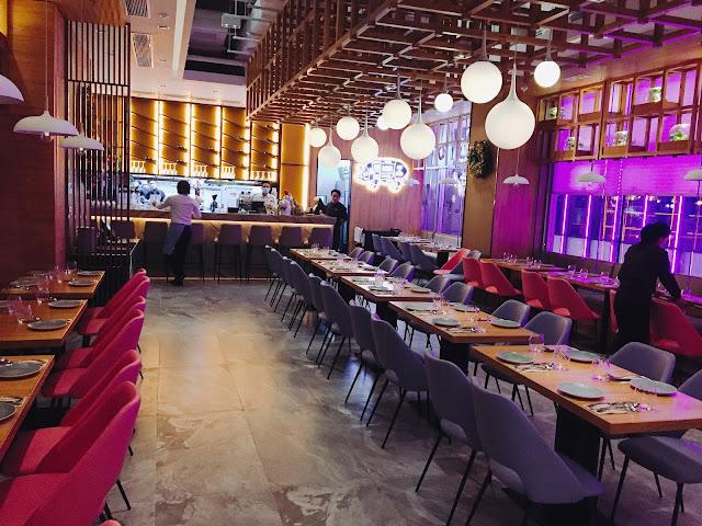 GustoRestaurant&Bar, lovecath, catherine, gusto, 黑毛豬, 情人節, 紫色, VPOINT, 銅鑼灣, 黑毛豬豬仔骨, 豬柳, 黑松露, foodie, foodblogger, 夏沫