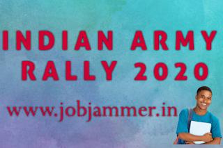 INDIAN ARMY RALLY 2020 AURANGABAD MAHARASTRA