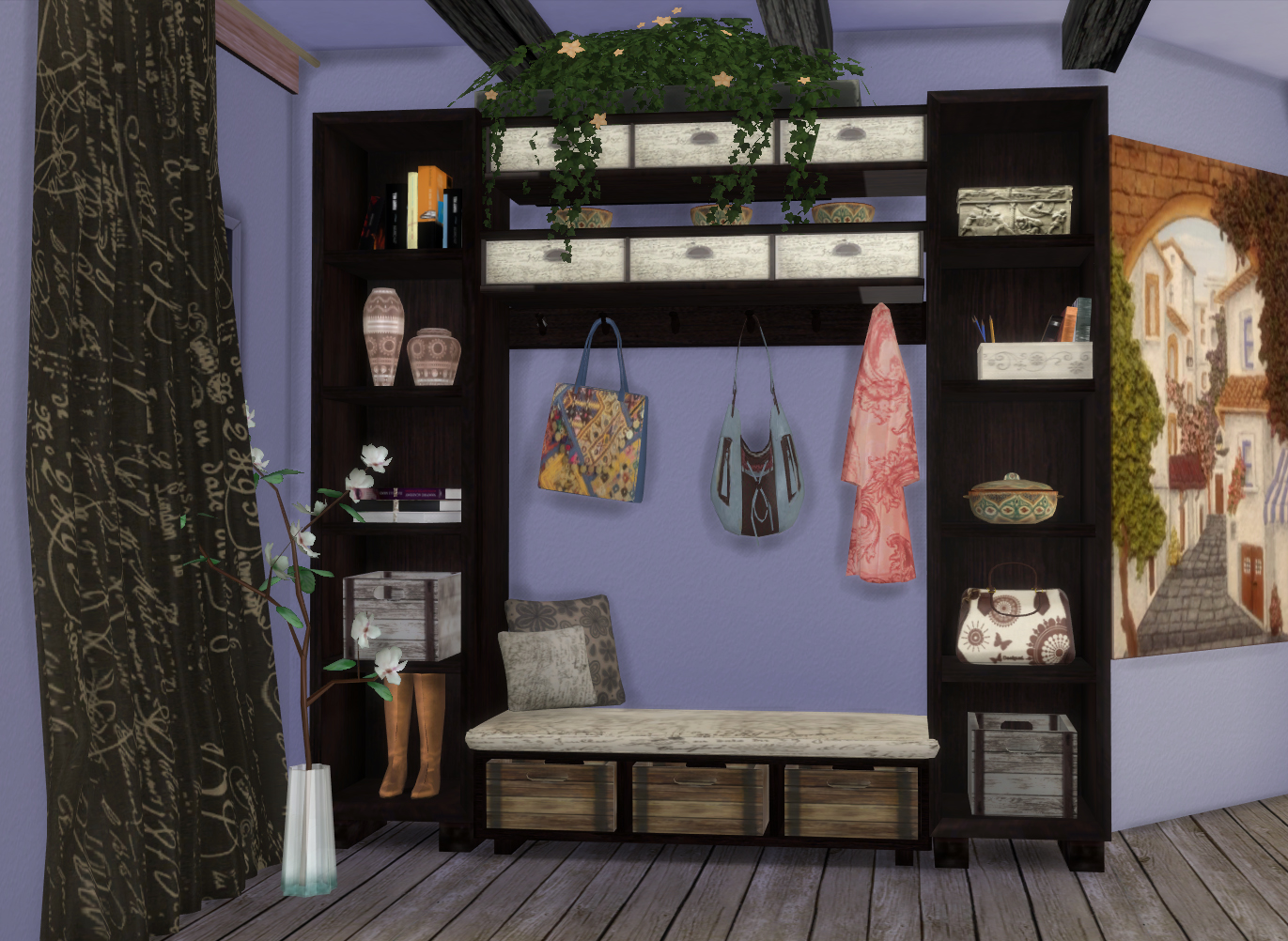 sims 4 cc's - the best: ibiza hall set by pqsim4, Badezimmer ideen