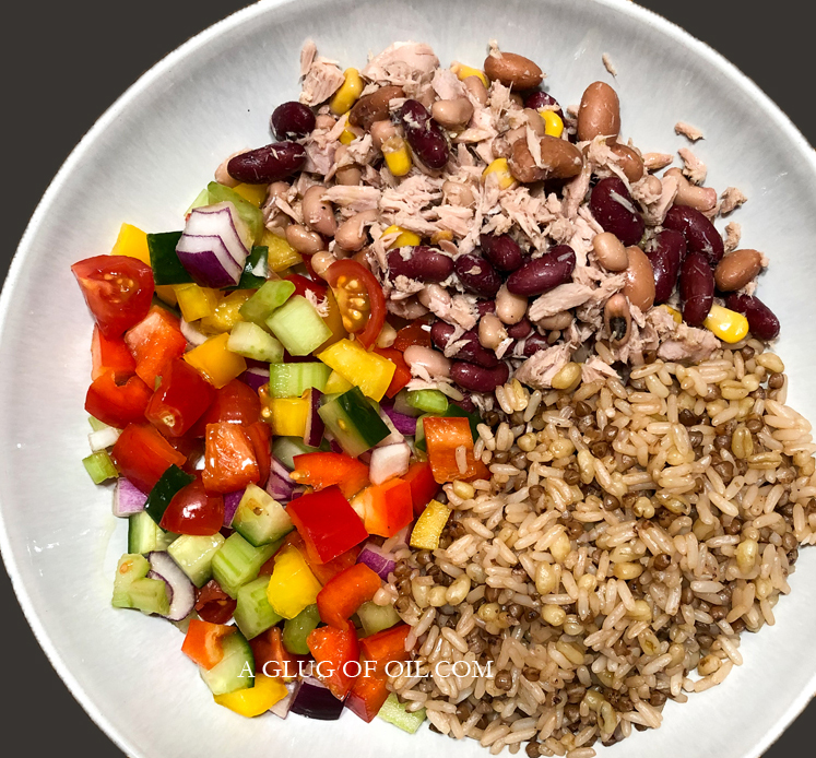 SuperFood Health and Fitness Lunch Bowl
