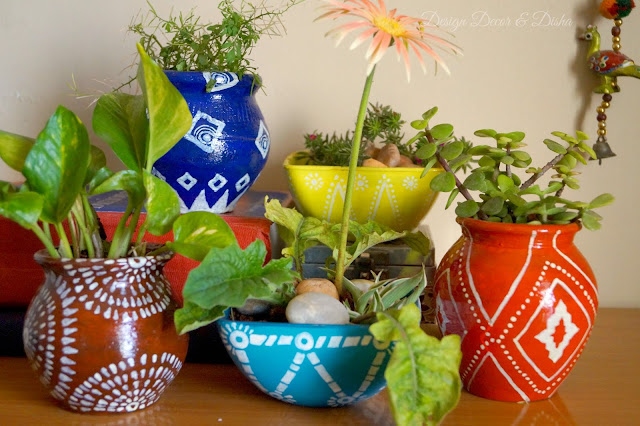 Anthropologie Inspired Pots