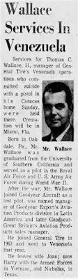 Thomas C. Wallace Suicide