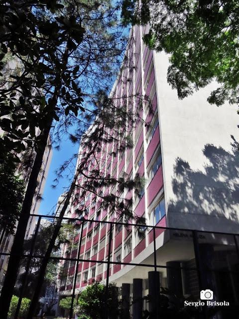 Vista ampla do Edifício Helena Arluzia - Consolação - São Paulo