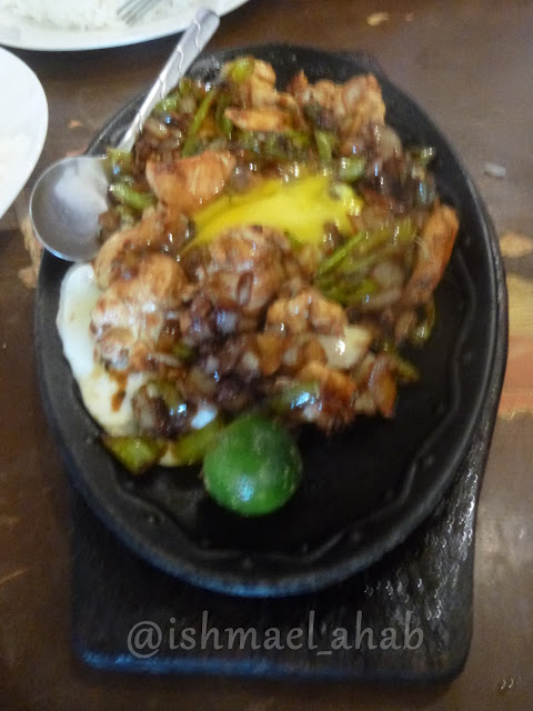 Sisig from Cinco Antonios Bistro, Baguio City