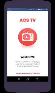 AOS TV v17.1.0 MOD APK