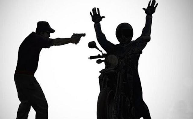 Assaltante atira duas vezes contra mototaxista para roubar sua moto em Garanhuns, PE