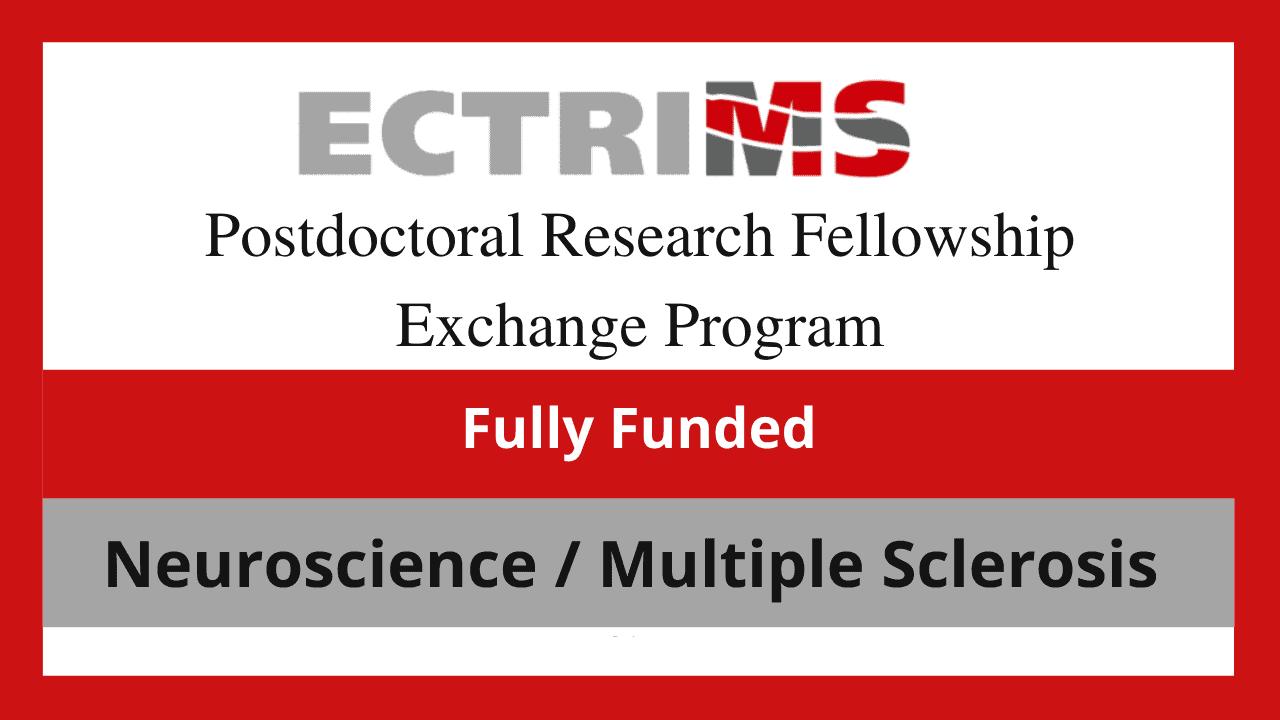 برنامج تبادل الزمالة البحثية لما بعد الدكتوراه ECTRIMS 2022